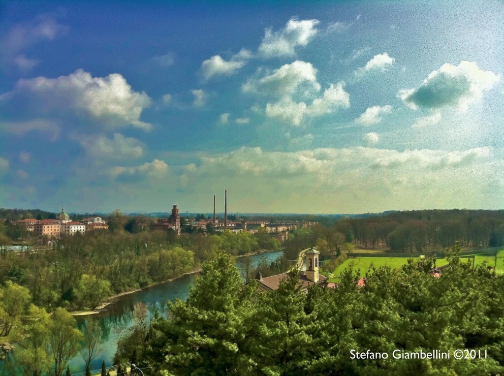 Il fiume Adda visto dal mio iPhone